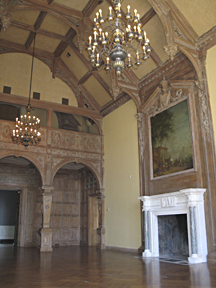 Greystone Mansion in Beverly Hills, former estate of the Doheny Family